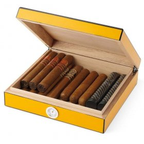 Humidor Egoist JK00127 Royale Yellow