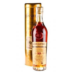 Cognac Jules Gautret Age 10 Year Canister 70CL