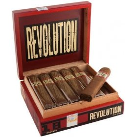 Trabucuri A. Turrent Revolution Robusto Pressed Box 18