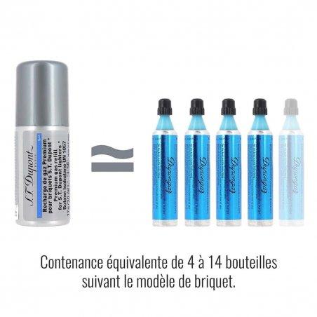 Gaz brichete S.T. Dupont Blue 000434