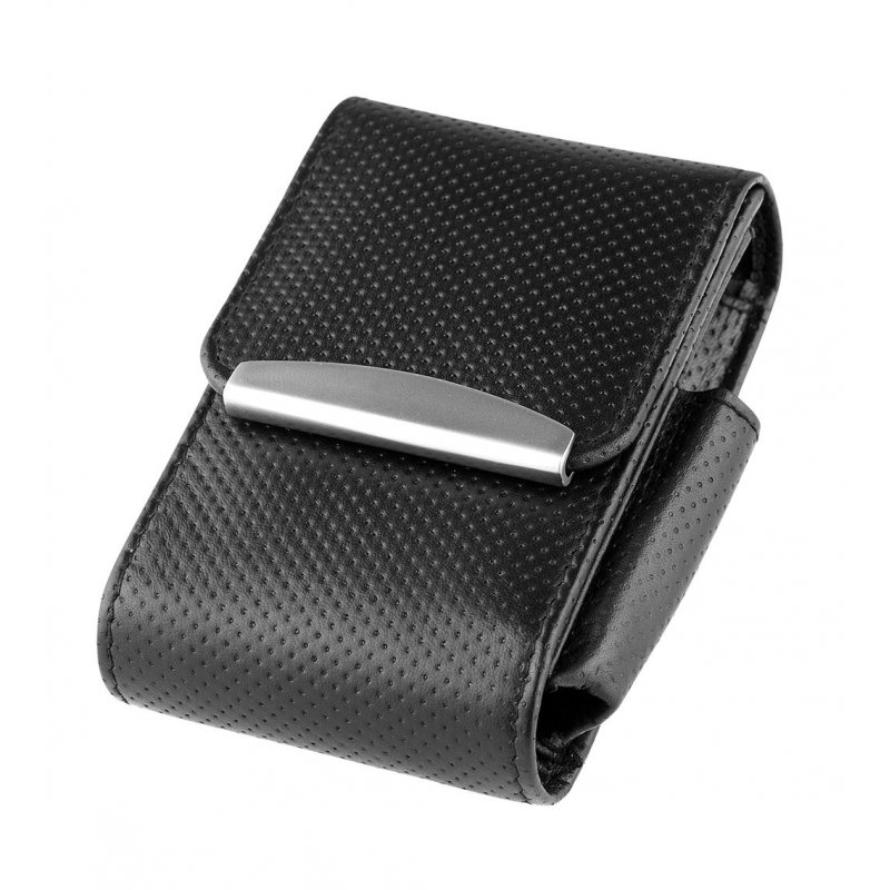 Etui pachet tigari Angelo Leather Black