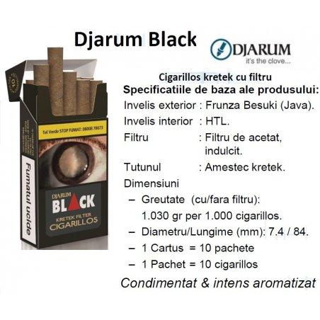 Tigari de foi Djarum Black 10