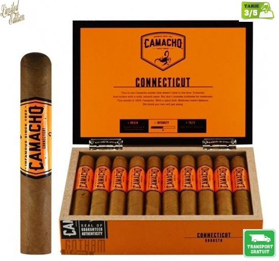 Trabucuri Camacho Connecticut Robusto Cello 20S