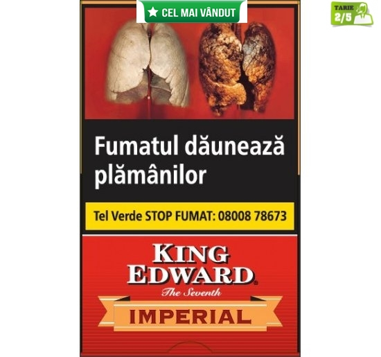 Tigari de foi King Edward Imperial 5