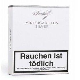Tigari de foi Davidoff Mini Cigarillos Silver 20