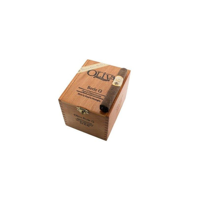 Trabucuri Oliva Serie G Cameroon Robusto 25