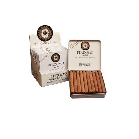 Tigari de foi Perdomo Mini Cigarillos Connecticut 20