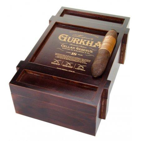 Trabucuri Gurkha Cellar Reserve 18 Year Edicion Especial Solara Double Robusto 20