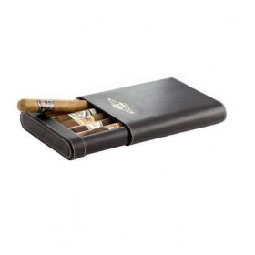 Humidor trabucuri Leather Travel
