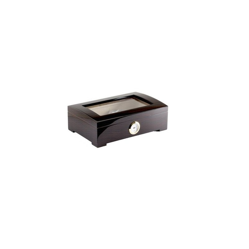 Humidor trabucuri Wooden Box Black