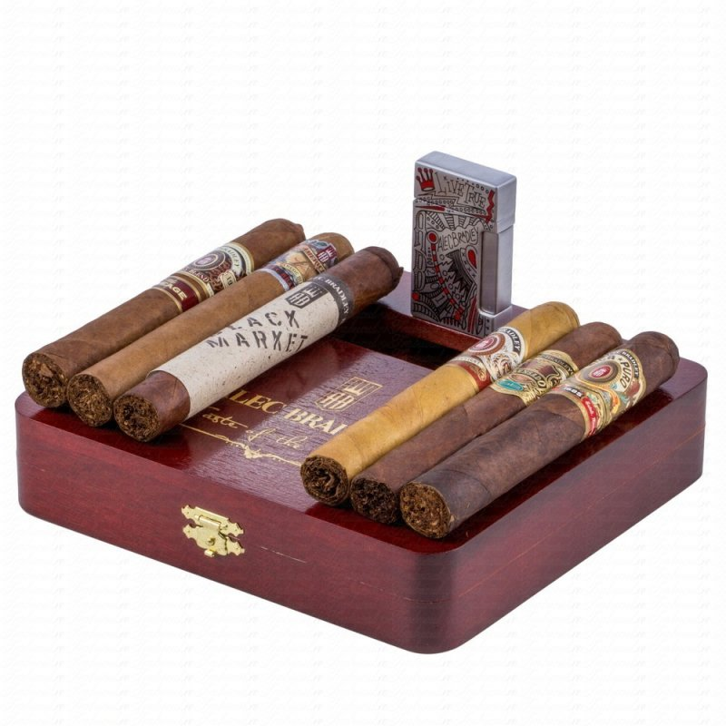 Trabucuri Alec Bradley Taste Of The World Special Sampler cu Bricheta