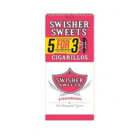 TIGARI DE FOI SWISHER SWEET CIGARILLOS STRAWBERRY 5