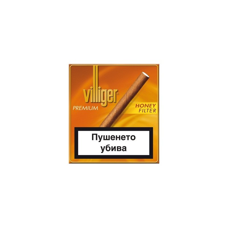 Tigari de foi Villiger Premium no.10 Honey Filter 10