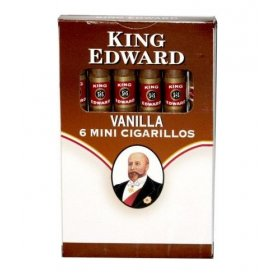 Tigari de foi King Edward Mini Cigarillos Vanilla 6