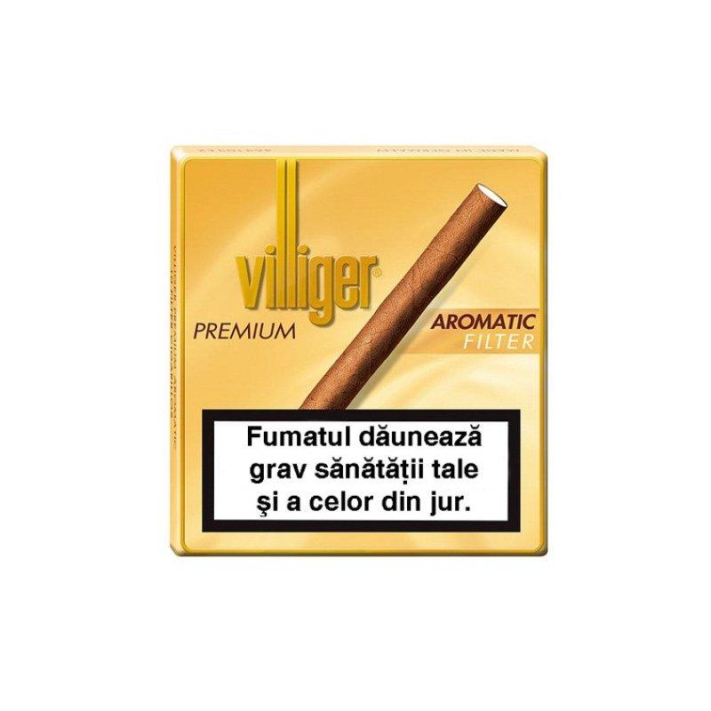 Tigari de foi Villiger Premium no.10 Aromatic Filter 10