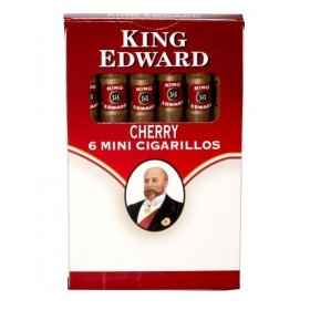 Tigari de foi King Edward Mini Cigarillos Cherry 6