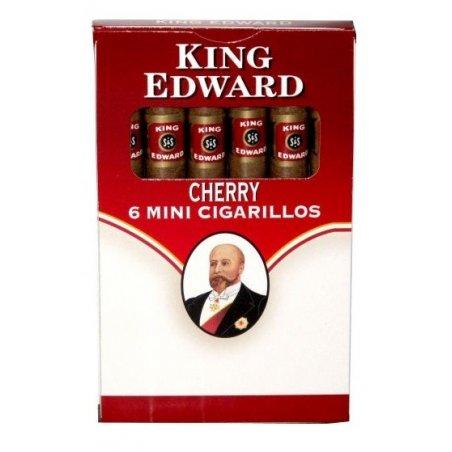 Tigari de foi King Edward Mini Cigarillos Cherry 6