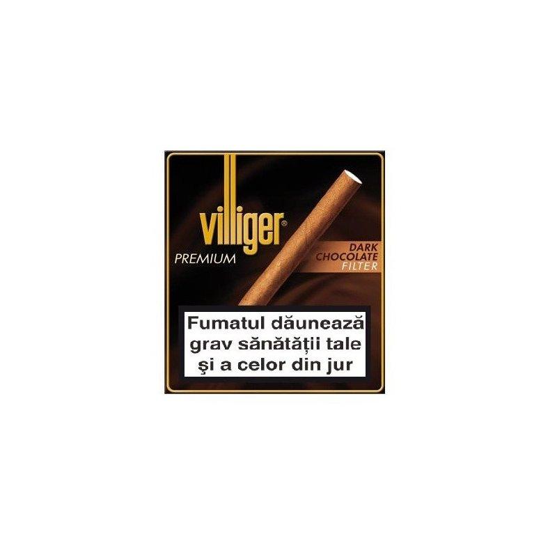 Tigari de foi Villiger Premium no.10 Dark Chocolate 10