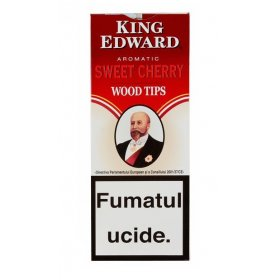 Tigari de foi King Edward Wood Tips Cherry 5