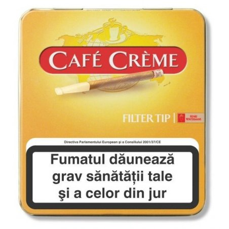Tigari de foi Cafe Creme Filter Tip 10