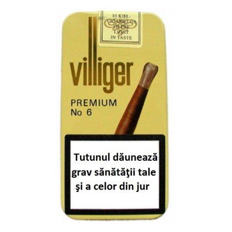 Tigari de foi Villiger Premium no.6 Sumatra Tin 10