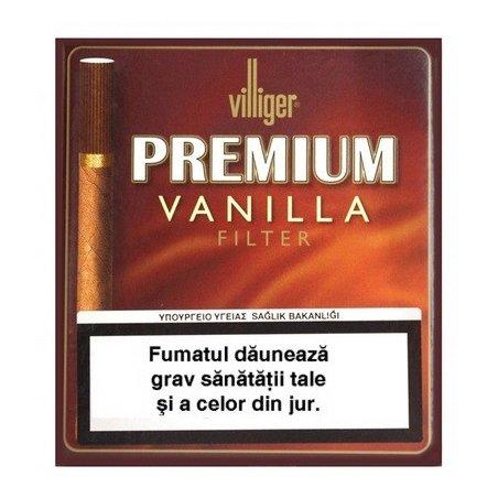 Tigari de foi Villiger Premium Vanilla Filter 10
