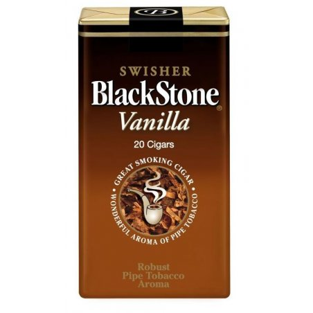 Tigari de foi Blackstone Filter Cigars Vanilla 20