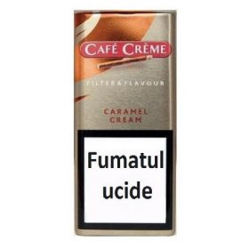 Tigari de foi Cafe Creme Filter & Flavour Caramel 10