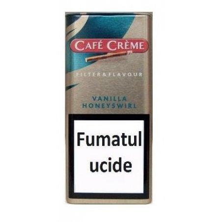 Tigari de foi Cafe Creme Filter Flavour Vanilla 10