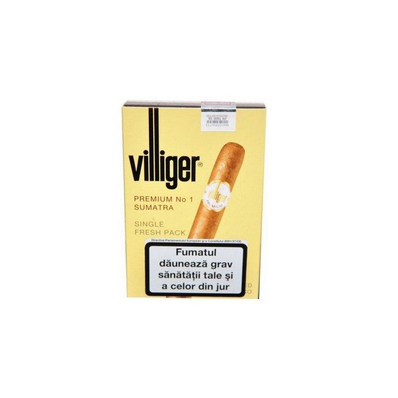 Tigari de foi Villiger Premium No 1 Sumatra 5