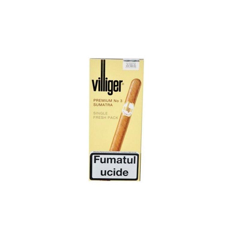 Tigari de foi Villiger Premium No 3 Sumatra 5