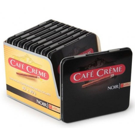 Tigari de foi Cafe Creme Noir 10