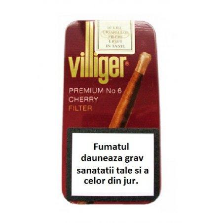 Tigari de foi Villiger Premium no.6 Cherry Tin 10