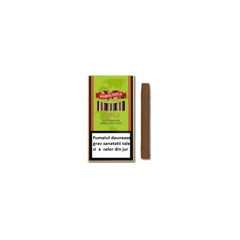 Tigari de foi Handelsgold Apple Cigarillos 5