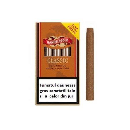 Tigari de foi Handelsgold Classic Cigarillos 5