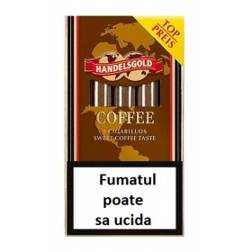 Tigari de foi Handelsgold Coffee Cigarillos 5