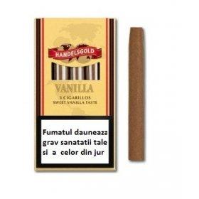 Tigari de foi Handelsgold Vanilla Cigarillos 5