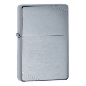 Bricheta Zippo 230 Vintage Brushed Chrome Slashes