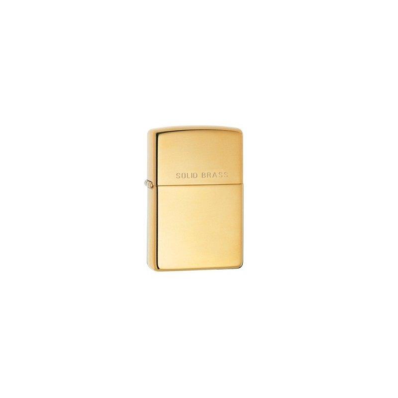 Bricheta Zippo 254 High Polish Brass