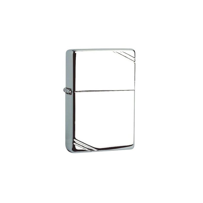 Bricheta Zippo 260 Vintage High Polish Chrome Slashes
