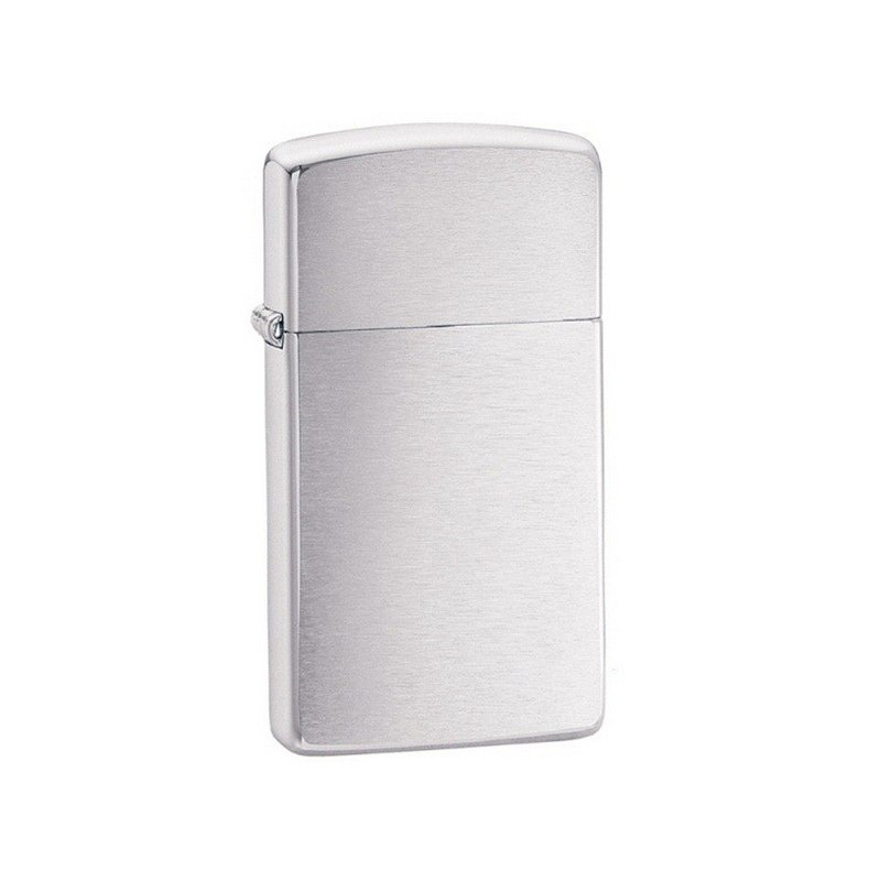 Bricheta Zippo 1600 Brushed Chrome Slim