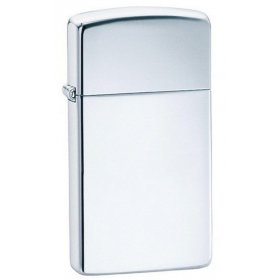 Bricheta Zippo 1610 High Polish Chrome Slim