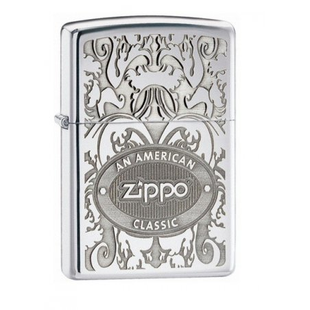 Bricheta Zippo 24751 Crown Stamp High Polish Chrome