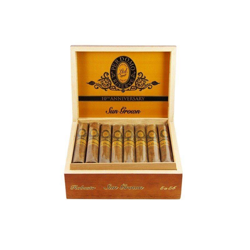 Trabucuri Perdomo Reserve 10th Anniversary Double Robusto Sun Grown 25