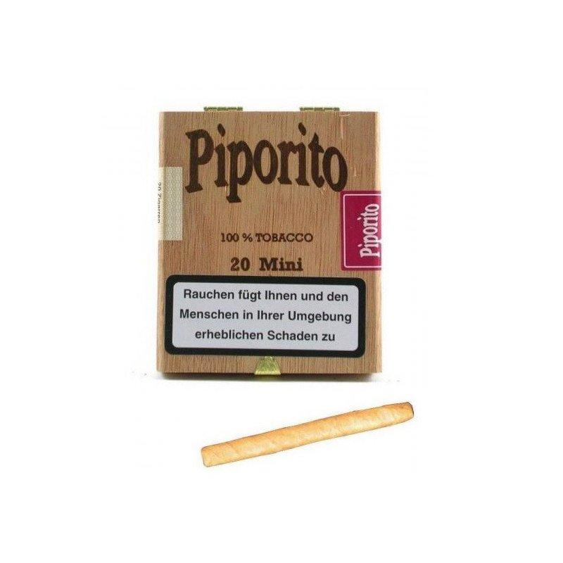 Tigari de foi Woermann Piporito Vanilla Mini 20