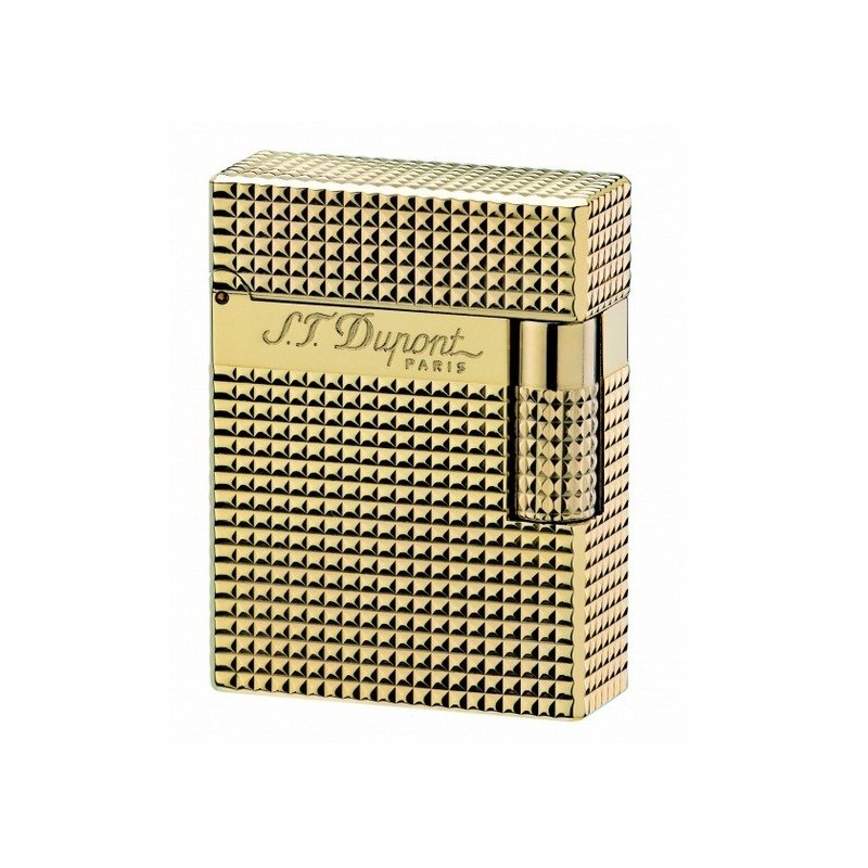 Bricheta S.T. Dupont Ligne 1 Gold Diamond Small 013410