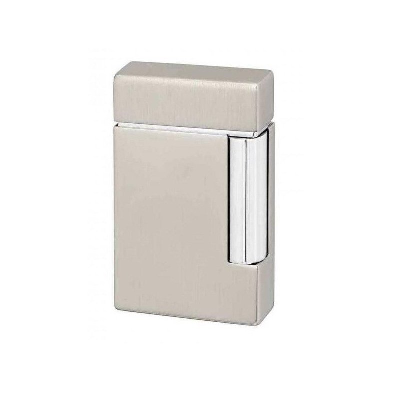 Bricheta S.T. Dupont Ligne 8 Grey Brushed 025108