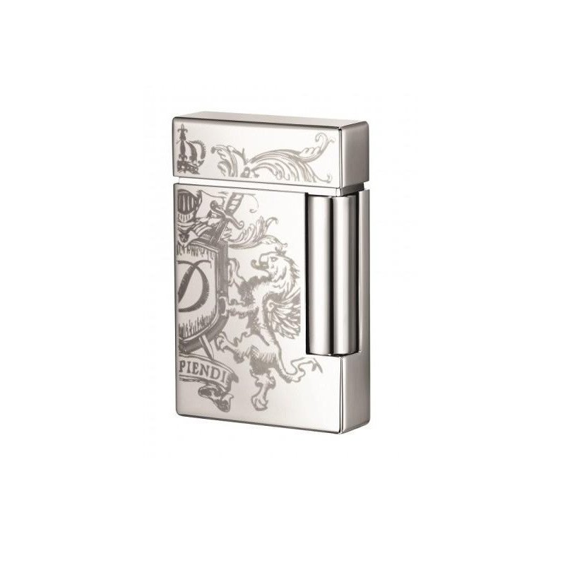 Bricheta S.T. Dupont Ligne 8 Blason Finition Chrome 025115