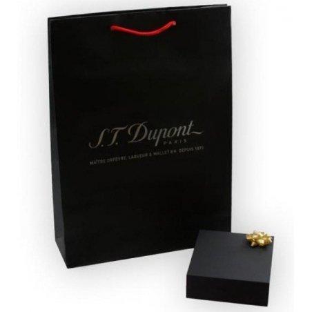 Butoni S.T. Dupont Cufflinks Black Lacquer Paladium 005366
