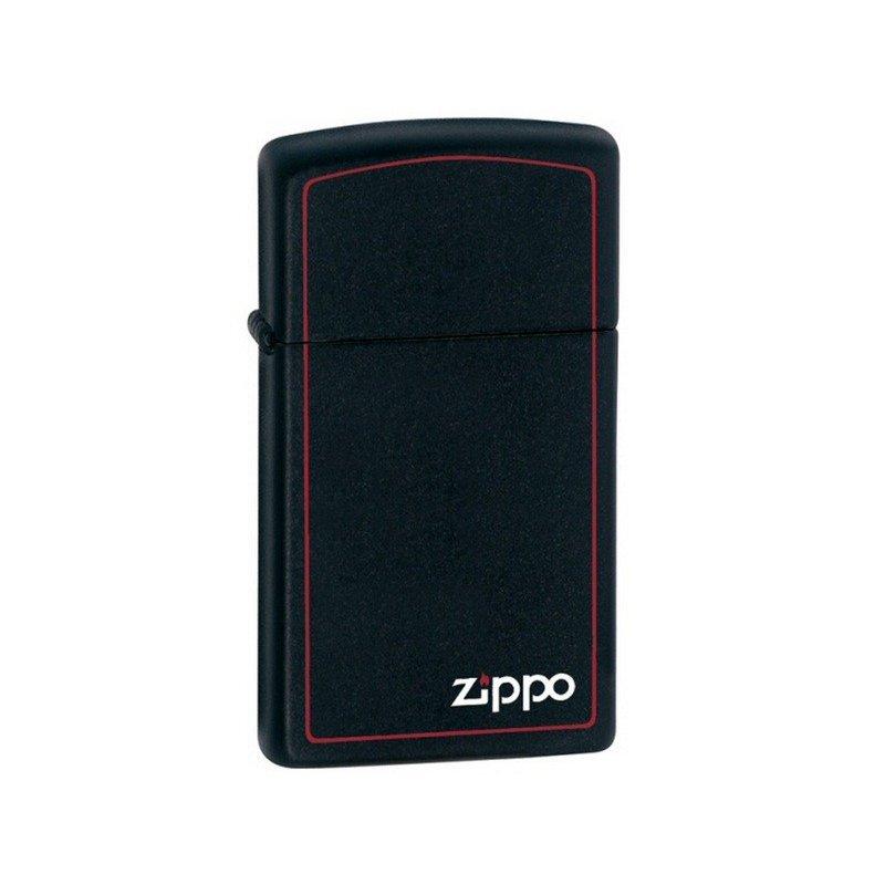 Bricheta Zippo 1618ZB Black Matte Slim